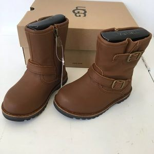 Ugg toddler girls brown boots size 6